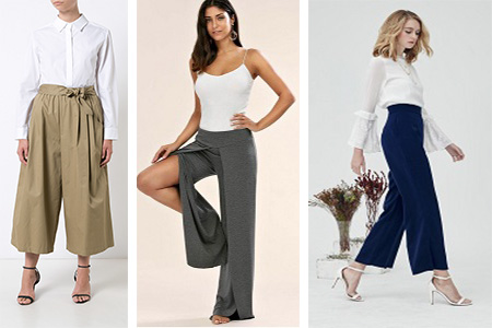 Different Types of Palazzo Pants